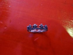 "画像1: amp japan ""Dear Paris"" Crown Ring"