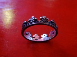 "画像3: amp japan ""Dear Paris"" Crown Ring"