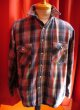 USED HEAVY FLANNEL CHECK SHIRTS