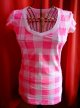 USED LADIES V-NECK S/S T-SHIRTS