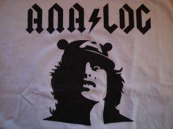 """画像2: ANALOG ORIGINAL S/S Tee """"ANA/LOG"""" Size:M"""