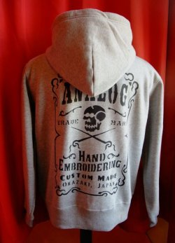 "画像1: ANALOG ORIGINAL SWEAT ZIP PARKA ""TRADE MARK"" Size:M"