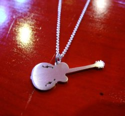 画像2: SEXY STONES RECORDS  Gretsch Guitar Pendant