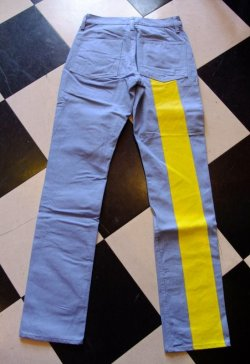 画像3: Road Runner RR ORIGINAL UK STYLE Prisoner Line Pants Size:S