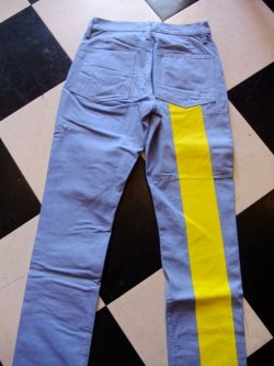 画像4: Road Runner RR ORIGINAL UK STYLE Prisoner Line Pants Size:S