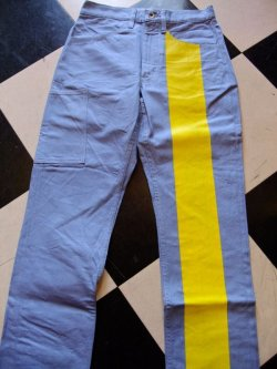 画像2: Road Runner RR ORIGINAL UK STYLE Prisoner Line Pants Size:S