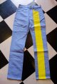 Road Runner RR ORIGINAL UK STYLE Prisoner Line Pants Size:S