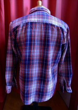画像3: USED CHECK HEAVY FLANNEL SHIRTS