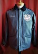 UNIVERD72  PATCH MELTON COACH JACKET