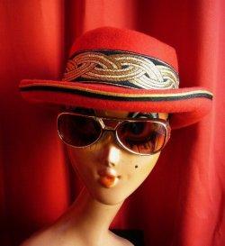 画像1: USED WOOL FELT HAT