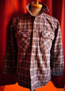 画像1: USED HEAVY FLANNEL SHIRTS