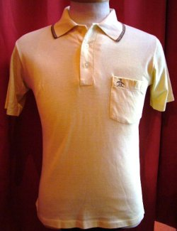 画像1: USED S/S POLO SHIRTS (MUNSING)